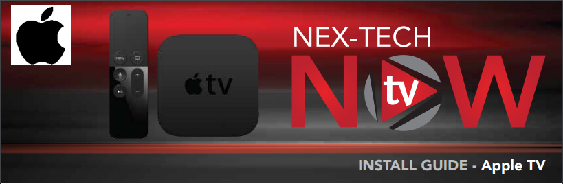 Apple TV Setup for Nex-Tech TV NOW
