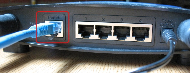 How to hook up a computer to ethernet