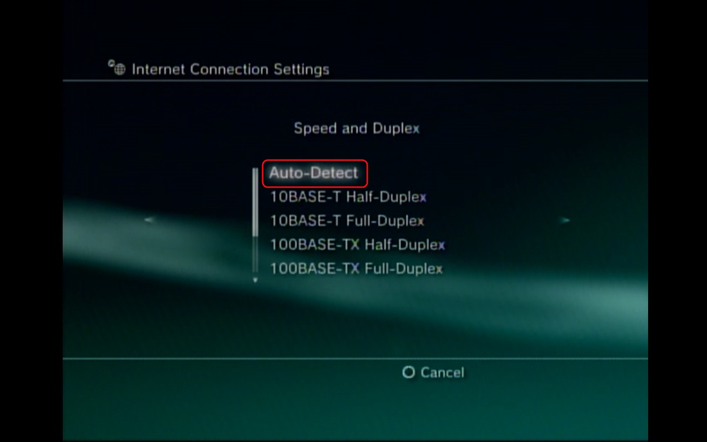 PlayStation3 - Configuring a PPPoE Connection