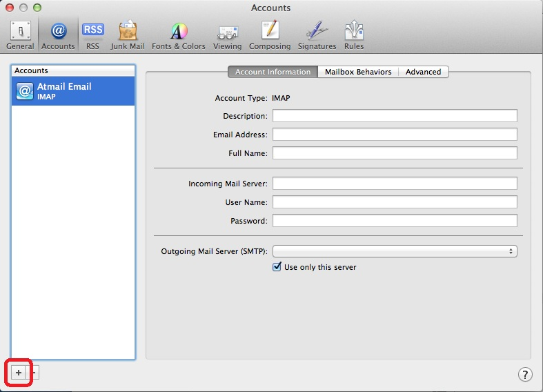 how to add live account to mac mail